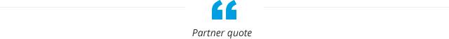 Partner quote