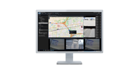 Smart Map in XProtect