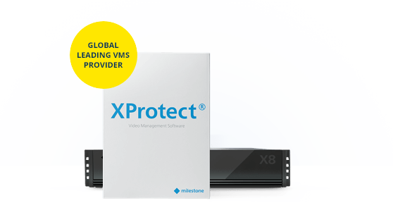 XProtect plus Husky X8 NVR package